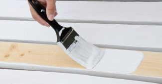 peinture pour bois