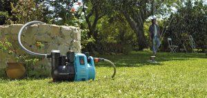 Pompe eau jardin